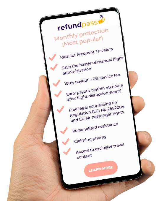Refund Pass on mobile