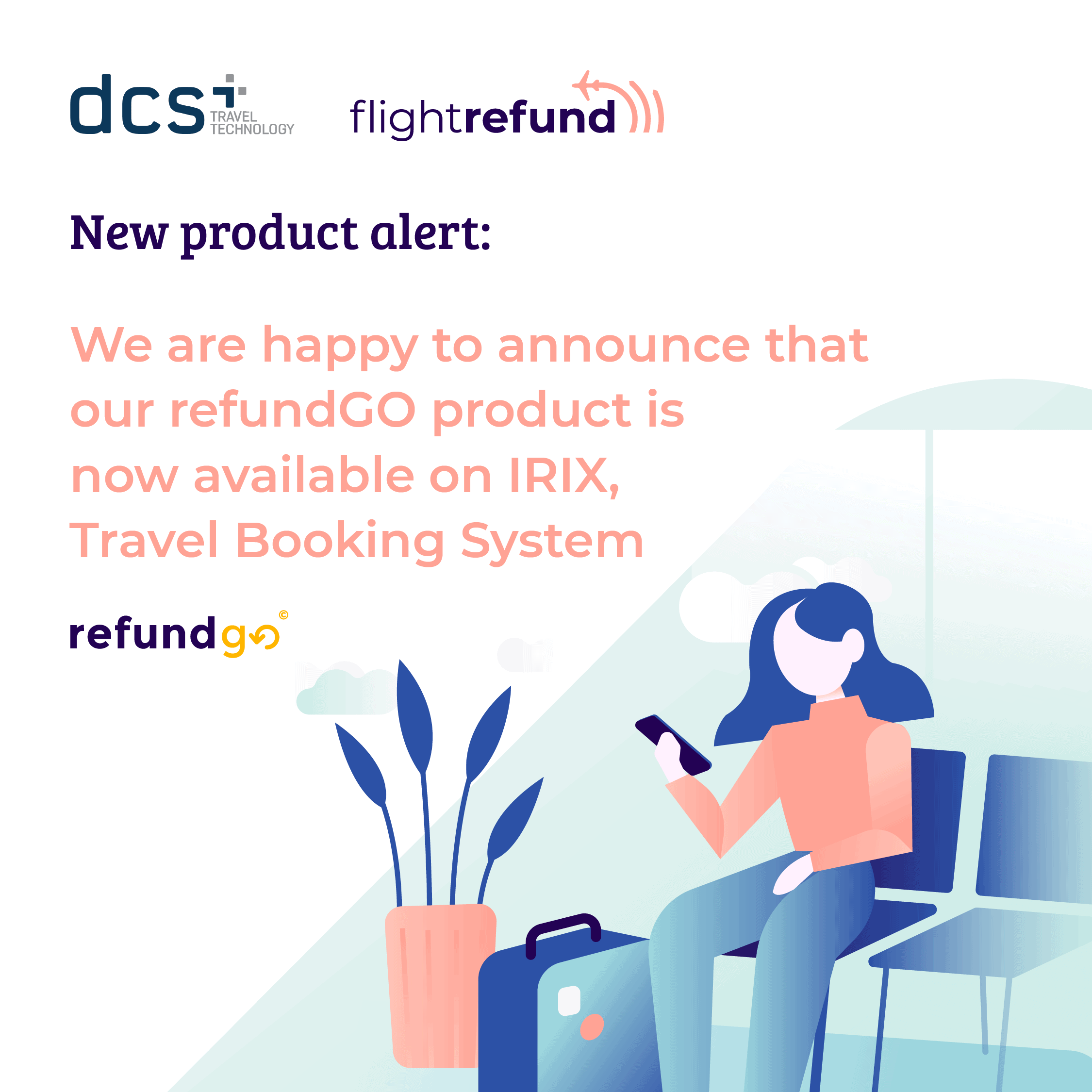 Why is REFUNDGO good for the travelers?